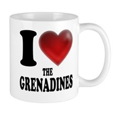 I Heart The Grenadines Mugs