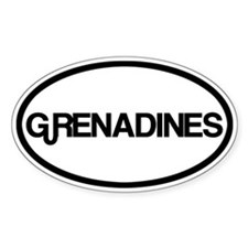 Grenadines Decal
