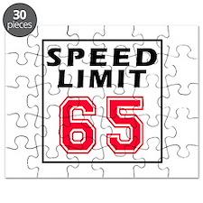 Speed Limit 65 Puzzle