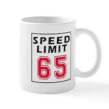 Speed Limit 65 Mug