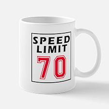 Speed Limit 70 Mug