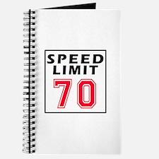 Speed Limit 70 Journal