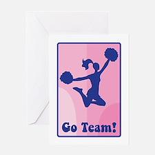 Go Team! Greeting Cards