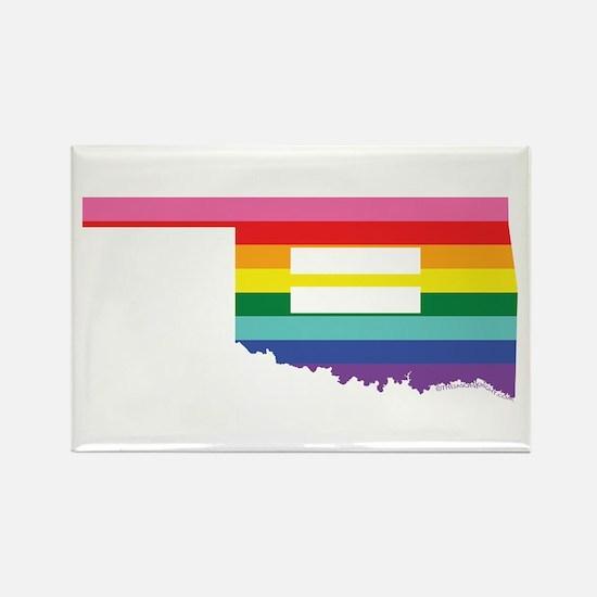 Oklahoma equality Magnets