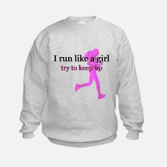 runlikegirl.png Sweatshirt