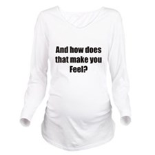 therapy.png Long Sleeve Maternity T-Shirt