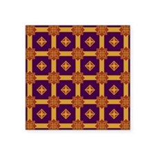"ROYALTY Square Sticker 3"" x 3"""
