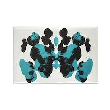 Blue Wednesday Inkblot Magnets