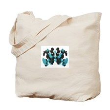 Blue Wednesday Inkblot Tote Bag