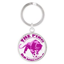 The Pink Panthers Henderson Round Keychain