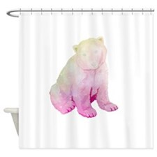 GalaxyBear Shower Curtain