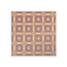 "LOVELY Square Sticker 3"" x 3"""