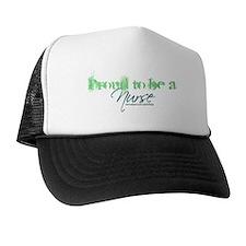 Proud to be a Nurse Trucker Hat