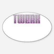 TWERK Decal