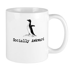 A socially awkward penguin Mugs