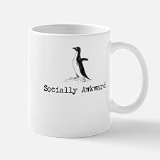 A socially awkward penguin Mugs