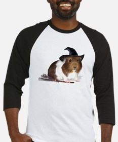 Guinea Pig Witch Bright Baseball Jersey