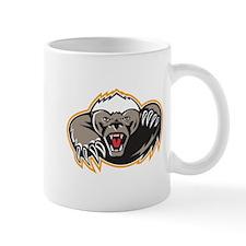 Honey Badger Mascot Claw Mugs
