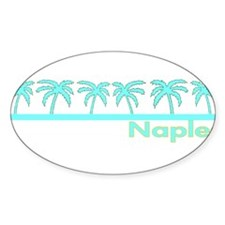 Naples, Florida Oval Decal