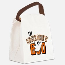 Im Someones Boo Ghost Halloween Canvas Lunch Bag