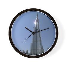 dubai in the sun Wall Clock