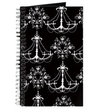 White Chandeliers Journal