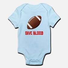 Football Give Blood Body Suit
