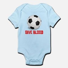 Soccer Give Blood Body Suit