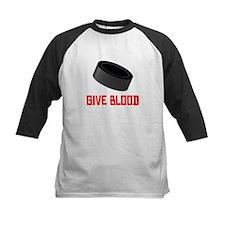 Hockey Give Blood Baseball Jersey