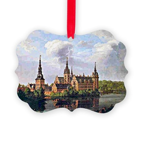 Frederiksborg Castle, Johan Chris Picture Ornament