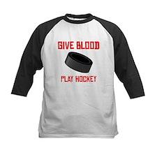 Give Blood Play Hockey Baseball Jersey