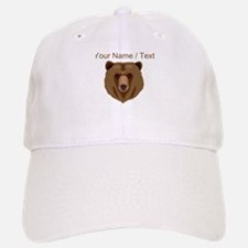 Custom Brown Grizzly Bear Baseball Baseball Baseball Cap