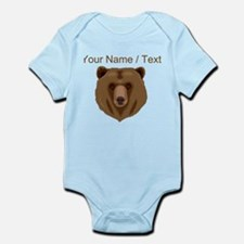 Custom Brown Grizzly Bear Body Suit