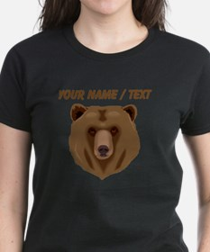 Custom Brown Grizzly Bear T-Shirt