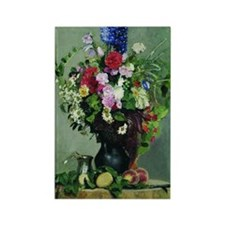 Ilya Repin - Bouquet of Flowers,  Rectangle Magnet