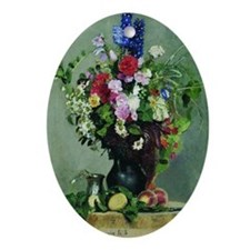 Ilya Repin - Bouquet of Flowers, 187 Oval Ornament