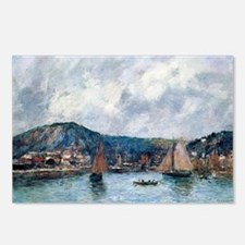 Eugene Boudin - Cherbourg Postcards (Package of 8)