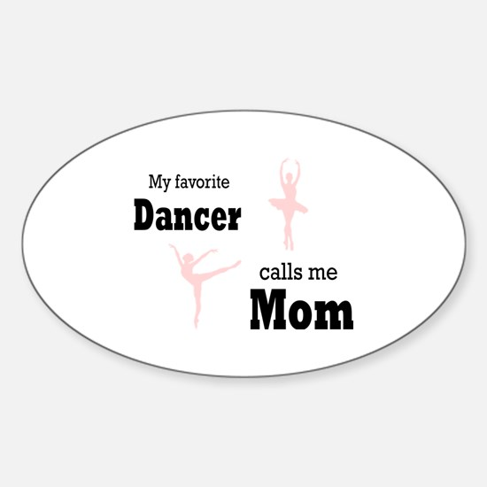 Cute Parents Sticker (Oval)