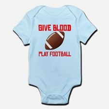 Give Blood Play Football Body Suit