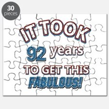 Took 92 years to look this fabulous Puzzle