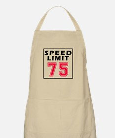 Speed Limit 75 Apron
