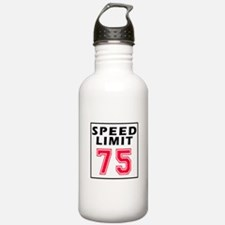 Speed Limit 75 Water Bottle