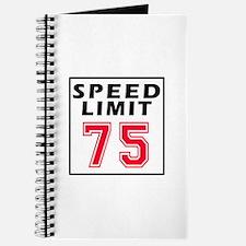 Speed Limit 75 Journal