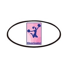 Cheerleader Girl Patches