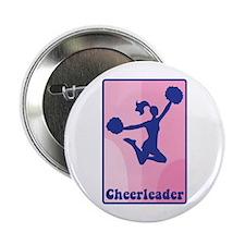 "Cheerleader Girl 2.25"" Button"