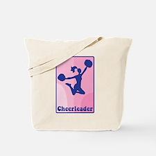 Cheerleader Girl Tote Bag