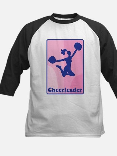 Cheerleader Girl Baseball Jersey