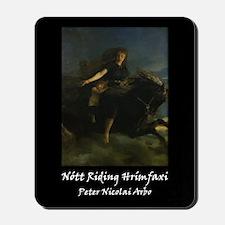 Nott Riding Hrimfaxi Mousepad