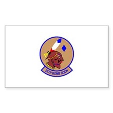 28th Bomb Squadron Rectangle Decal