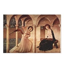 Annunciation (by Fra Angelico) Postcards (Package
